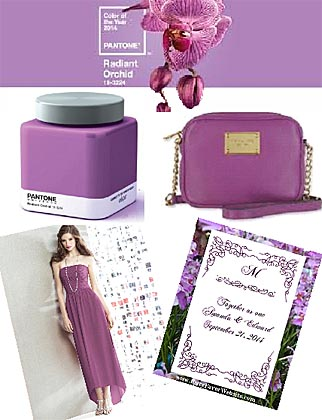 2014 color of the Year Radiant Orchid